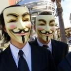 Группа хакеров Anonymous (Анонимы) взломала систему американской компании, специализирующейся на безопасности