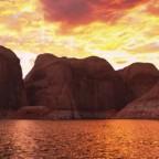 Технологии видео и красота земли произвели захватывающую визуализацию нашей планеты