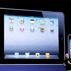 Визуализация продаж iPod, iPhone и iPad на сегодняшний день с момента их выхода на рынок