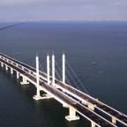 Китай открывает самый длинный мост в мире (видео)