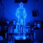 Завораживающие светодиодные скульптуры японского дизайнера Макото Тойики