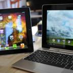 Новейший планшетный компьютер Asus Eee Pad Transformer Prime TF 201 против Apple iPad 3-го поколения