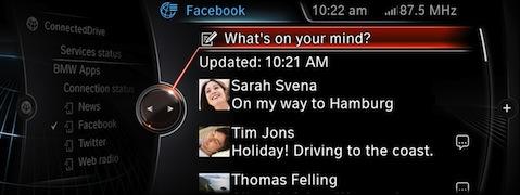 BMW-ConnectedDrive-Facebook-update-display