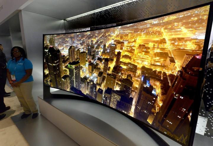 телевизор, Bendable TV, изогнутый экран