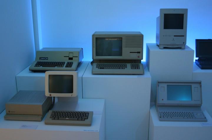 Первые компьютеры Apple Macintosh