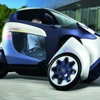 Трицикл Toyota i-road и его эволюция
