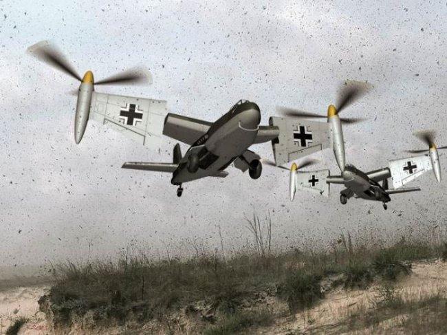 Несостоявшийся Weserflug P.1003