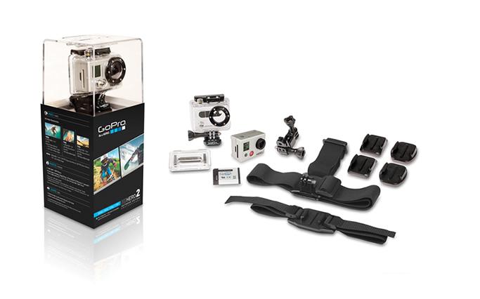 GoPro Hero 2 и его комплектация