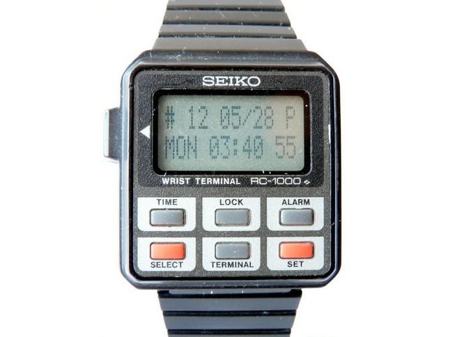 RC-20 Wrist Computer (Seiko Epson 1985год)