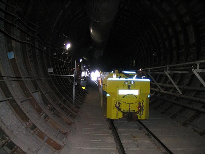 Спуск в хранилище радиоактивных отходов, Юкка-Маунтин, США