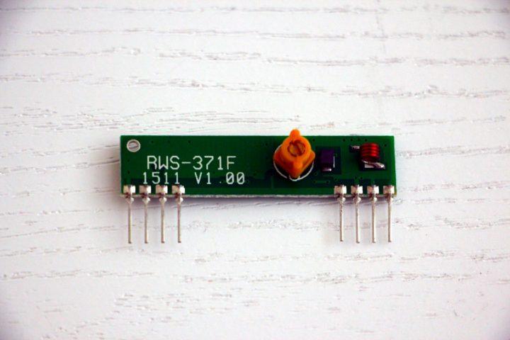 Приёмник 433мГц. Модель RWS-371F